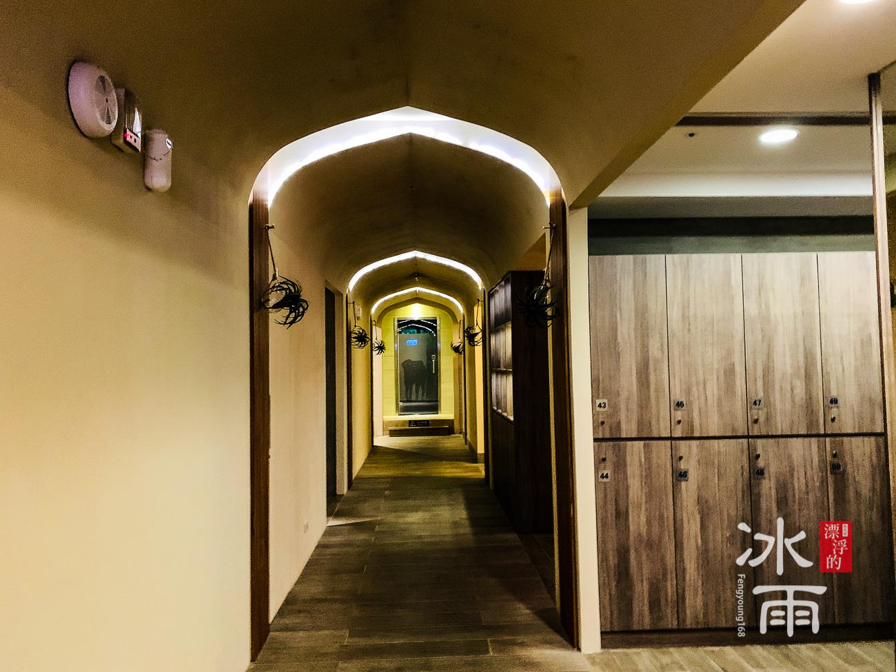 陽明山天籟渡假酒店|女湯置物櫃