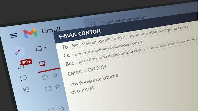 Perbedaan Opsi To, Cc, dan Bcc Saat Kirim Email