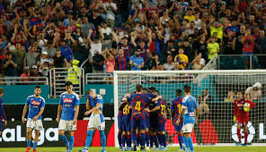 مشاهدة مباراة برشلونة ونابولي