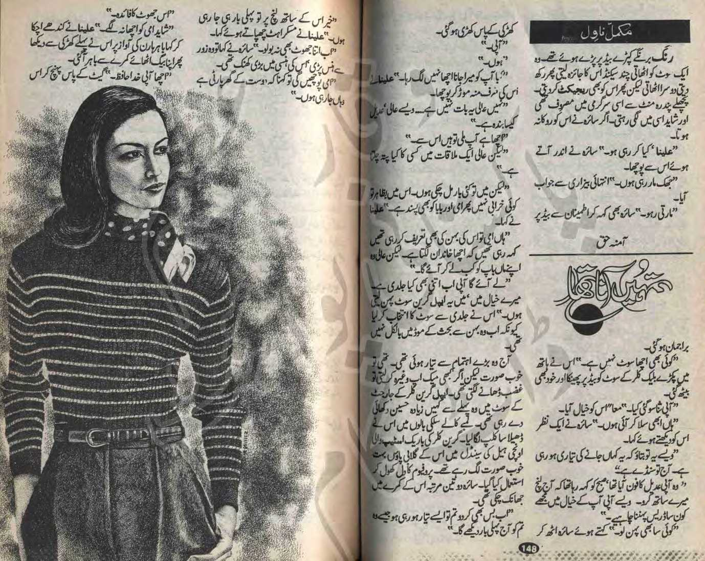 Summary -> Kidnapping Based Romantic Urdu Novels List
