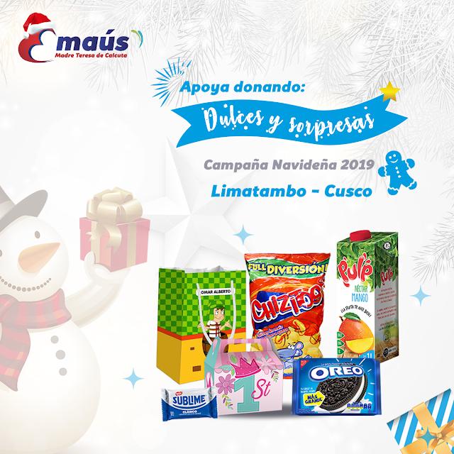 """""""Dona dulces y sorpresas en Navidad"""""""