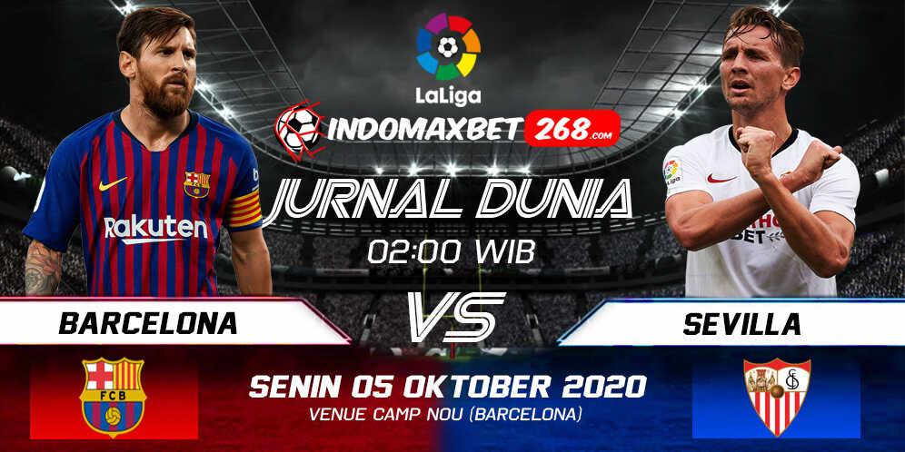 Prediksi Barcelona vs Sevilla 05 Oktober 2020 Pukul 02:00 WIB