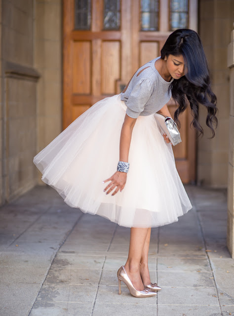Daily Inspiration :: Tulle Skirt and Pumps :: Cool Chic Style Fashion