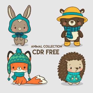 Animal Collection Vector Free
