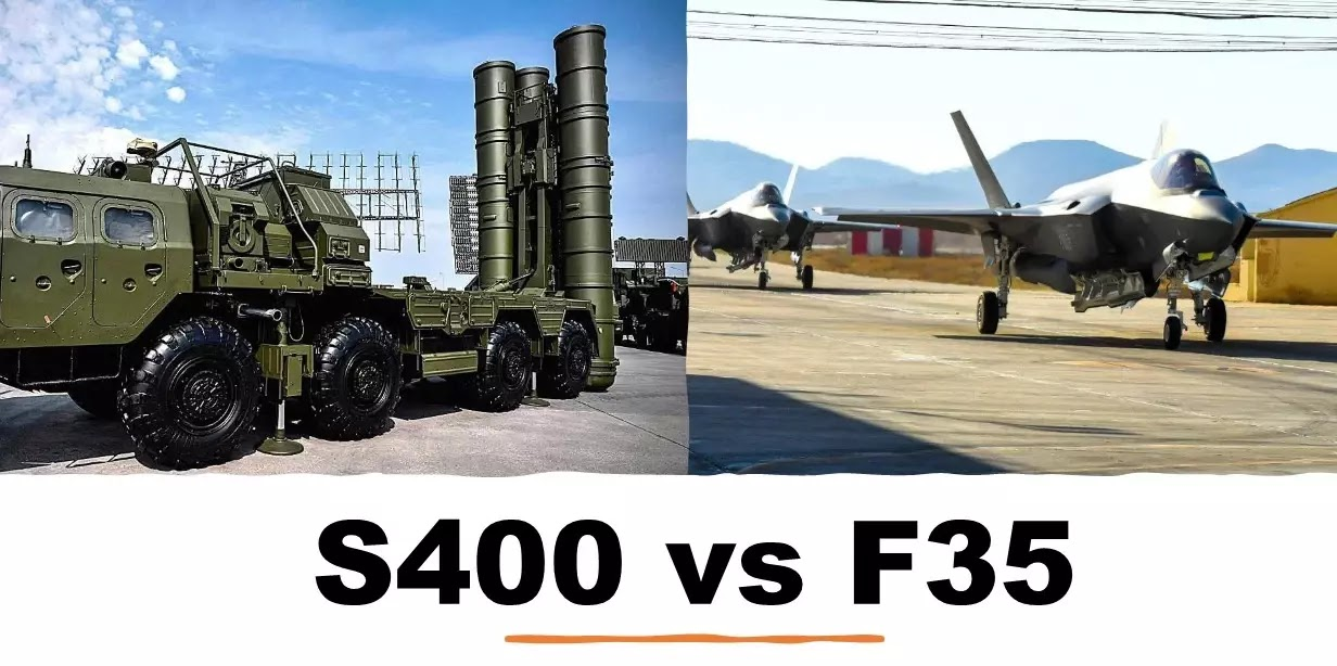 S400 vs F35 Comparison Can the S400 shoot down the F35?  | Specifications, Radar Strength