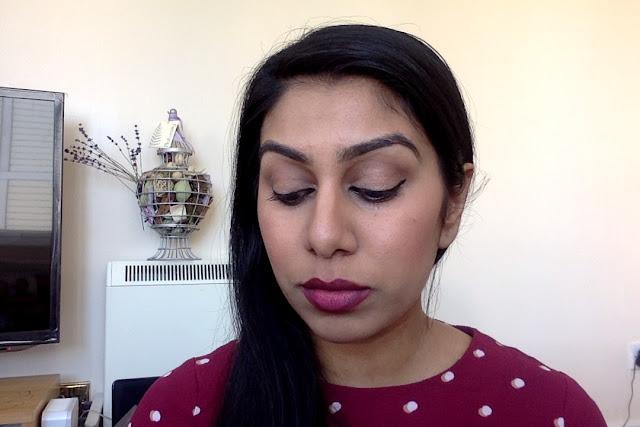 Huda's lip contour in Famous recreated with cheaper lipsticks