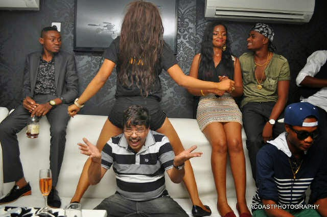 f Don Jazzy, Tiwa Savage, others @ The Place for #MTNCelebDouble rave