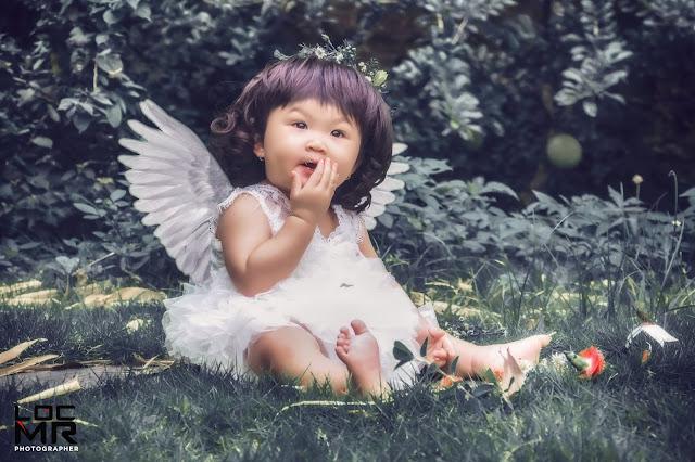 Bộ sưu tập ảnh thiên thần bé