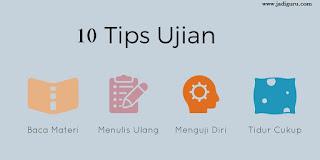 10 tips meghadapi ujian