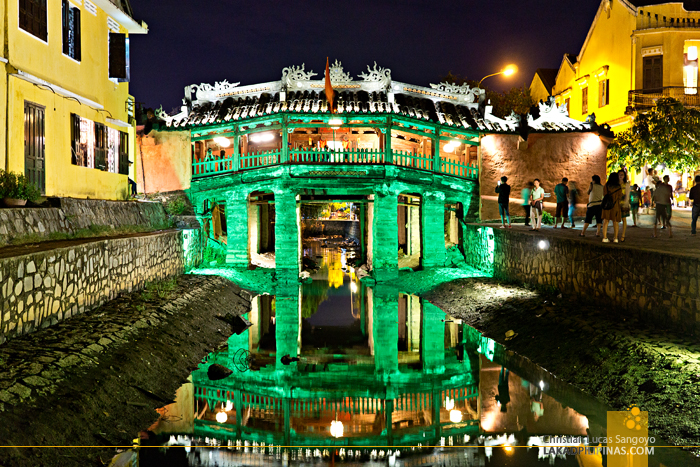 Hoi An Ancient Town Vietnam Japanese Bridge