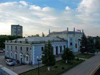 Ровно. Железнодорожная станция