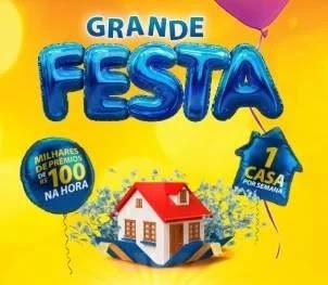 Cadastrar Promoção Grande Festa Walmart, Big e Bom Preço 1 Casa Por Semana