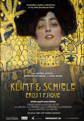 KLIMT & SCHIELE. EROS Y PSIQUE - documental cartel españa