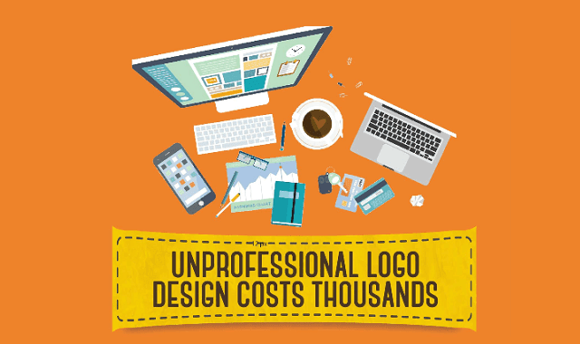 How Unprofessional Logo Design can Affect a Brand Financially