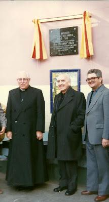 Mn. Joan Bonet, Dr. Narcís Jubany i Mn. Joan Carrera