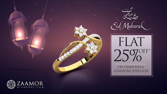 Eid Mubarak - Zaamor Diamonds