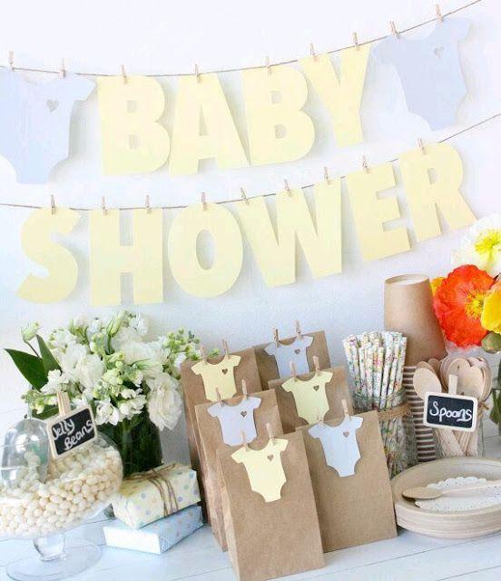 25 Ideas para decorar un Baby Shower de varn | Ms Chicos