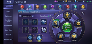 upgrade emblem mobile legends