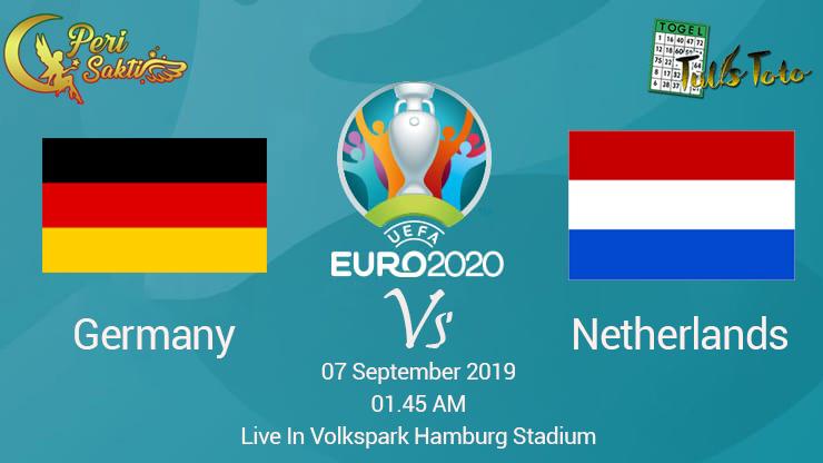 Prediksi Jerman vs Belanda UEFA Eruopean Championship 07 September  2019