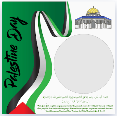 Twibbon Palestine Day 2021