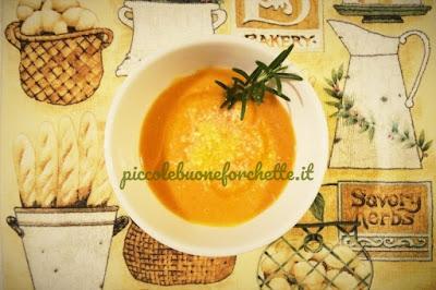 foto Ricetta crema di zucca e castagne per bambini