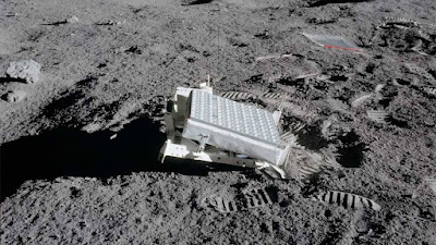 Os cientistas refletem com sucesso um feixe de laser entre a Terra e LRO orbitando a Lua
