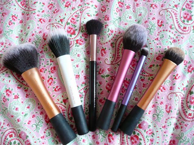 Favourite face makeup brushes real techniques lauren luke beauty
