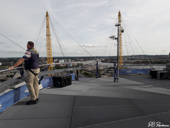Up at The O2 Experience