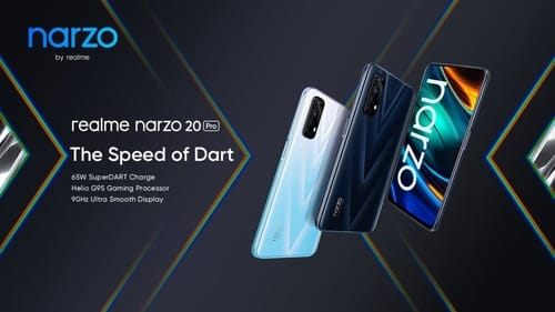 Realme announced the launch of the Narzo 20A, Narzo 20 and Narzo 20 Pro