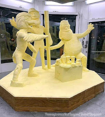 The 2020 Pennsylvania Farm Show in Harrisburg - Butter Sculpture