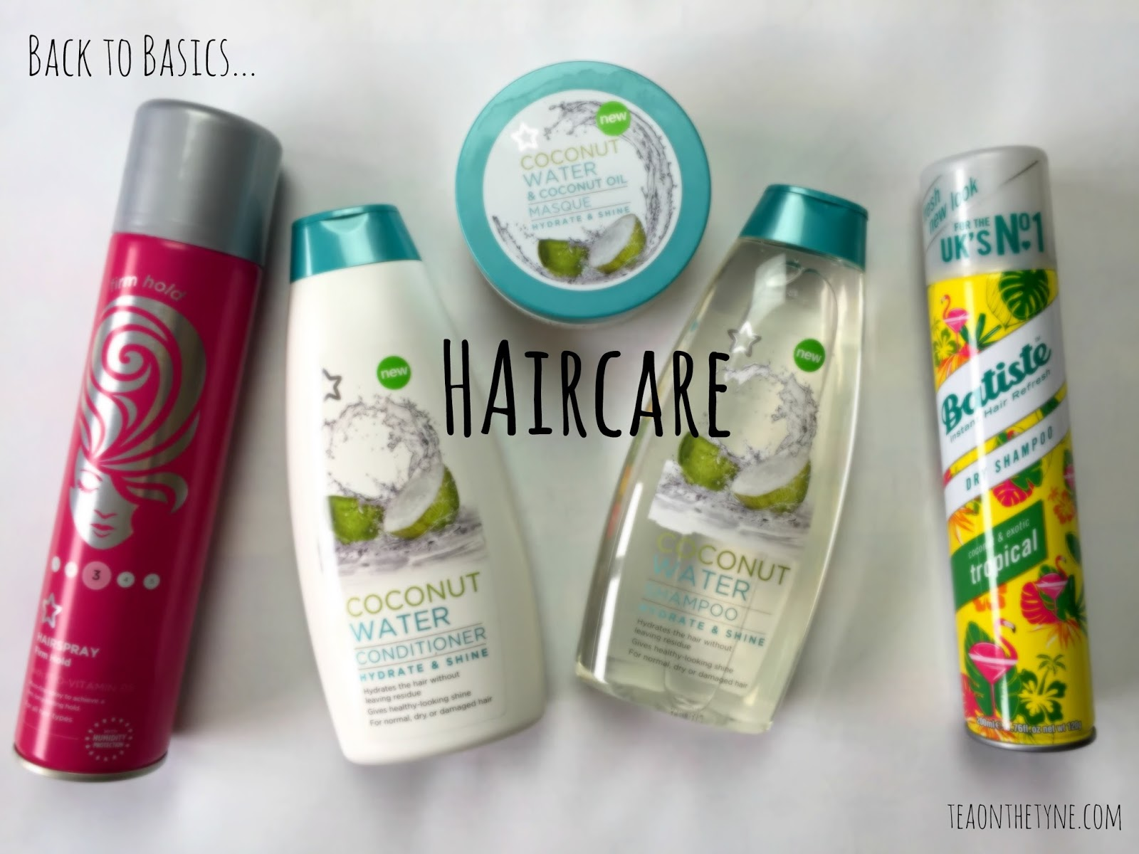 Cruelty Free and Vegan Haircare Shampoo Conditioner Hairspray Dry Shampoo