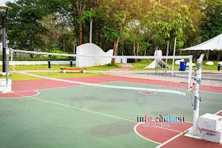 Foto Lapangan Sepak Takraw Outdoor (Luar Ruangan)