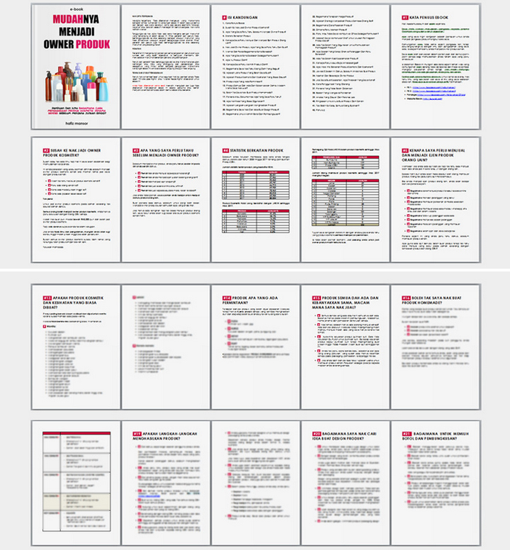 Ebook Panduan Jadi Pengasas Produk
