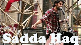 Sadda Haq Lyrics Rockstar