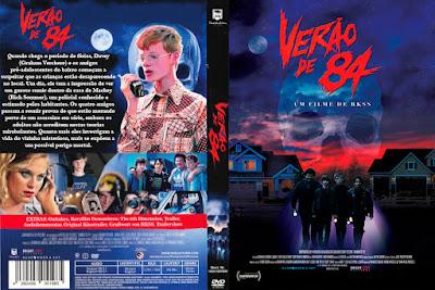 Filme Verão de 84 (Summer of '84) DVD Capa