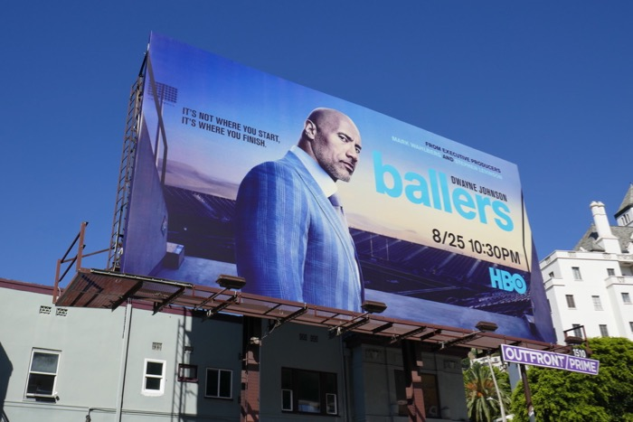 Ballers season 5 HBO billboard