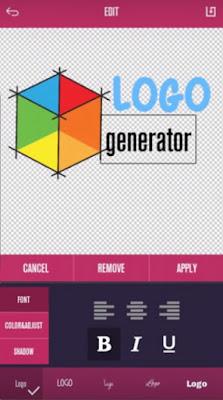 Aplikasi pembuat logo gratis  terbaru logo  generator