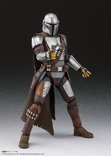 S.H.Figuarts Mandalorian en Beskar Armor y Baby Yoda - Tamashii Nations