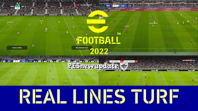 PES 2021 Real Lines Turf by Moiduran