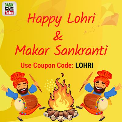 Lohri & Makar Sankranti Offer on BankExamsToday
