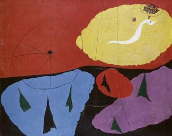 Resultado de imagen de Joan Miró, paysage 1926