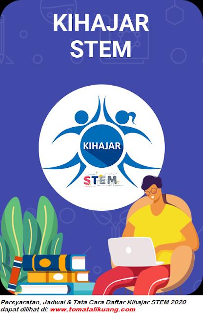 Persyaratan Jadwal Cara Daftar Kihajar STEM Tahun 2020 untuk Siswa SD SMP SMA SMK sederajat tomatalikuang.com