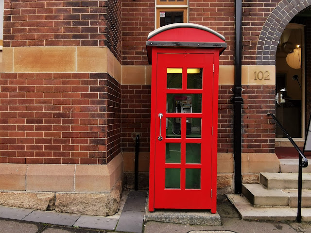 Red Phone Booth at The Rocks