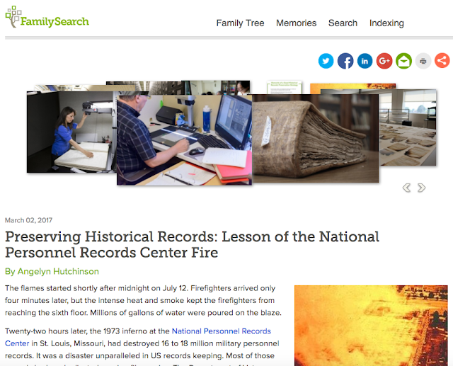 Your Part in Helping to Preserve the World's Records