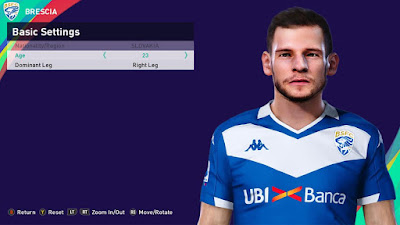PES 2021 Faces Nikolas Špalek by Rachmad ABs