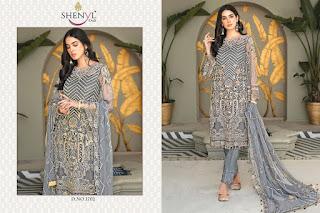 Shenyl Fab Maryam Gold Pakistani Suit catalog