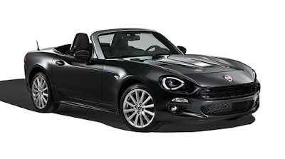 2017 FIAT 124 Spider Black wallpaper