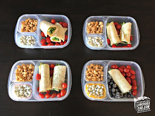 Wraps kids easy bento lunch