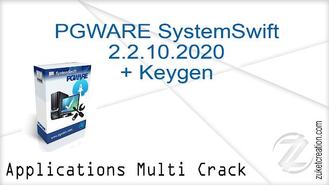 PGWARE SystemSwift 2.2.10.2020 + Keygen
