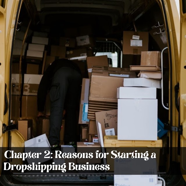 Definitive Guide to Becoming a Successful Drop shipper  - Chapter 2: Reasons for Starting a Dropshipping Business
